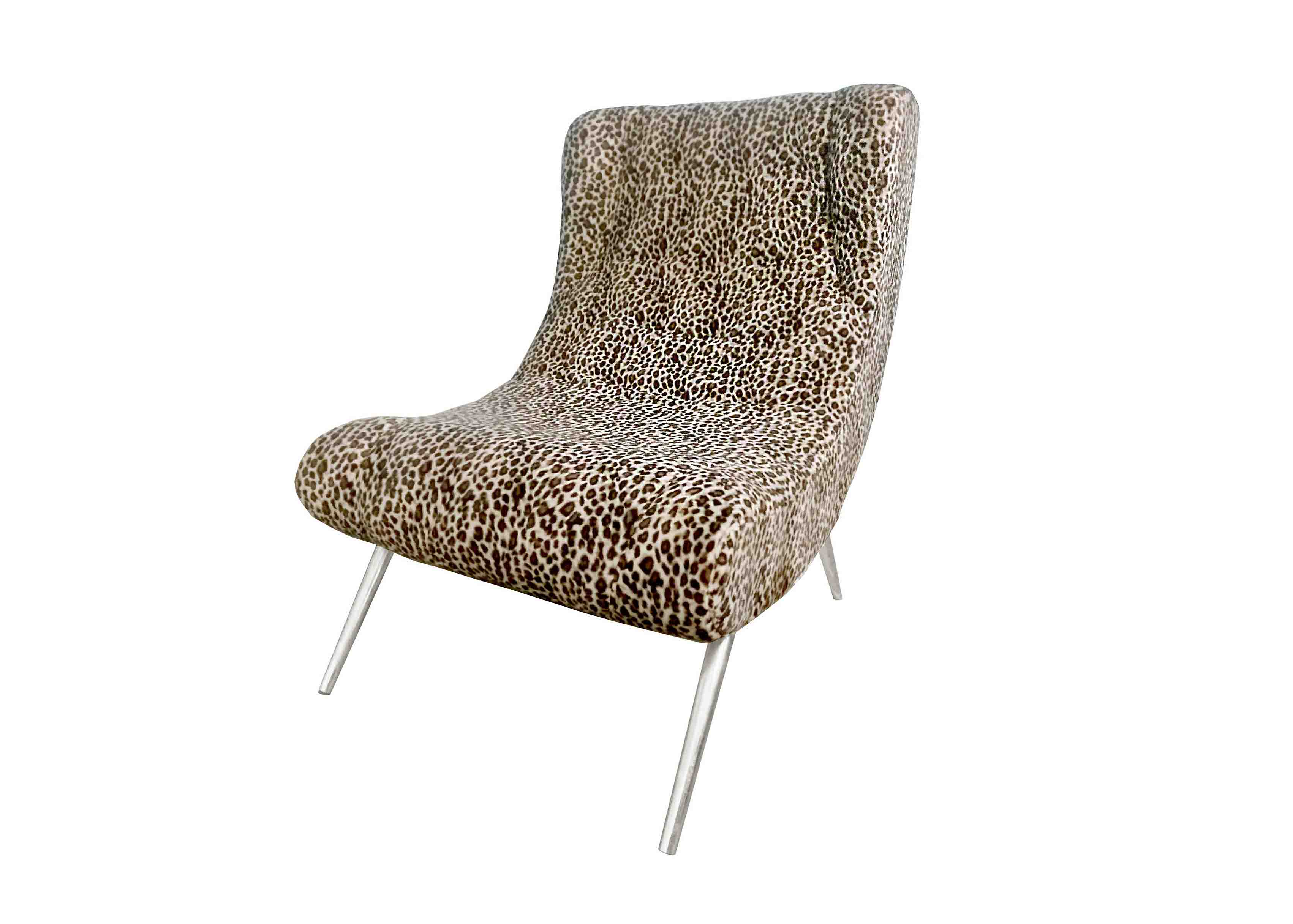 Leopard Accent Chair  sc 1 st  IG Creative & Leopard Accent Chair - IG Creative